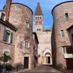 Abbaye tour des remparts