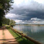 Voie bleue bord de Saône
